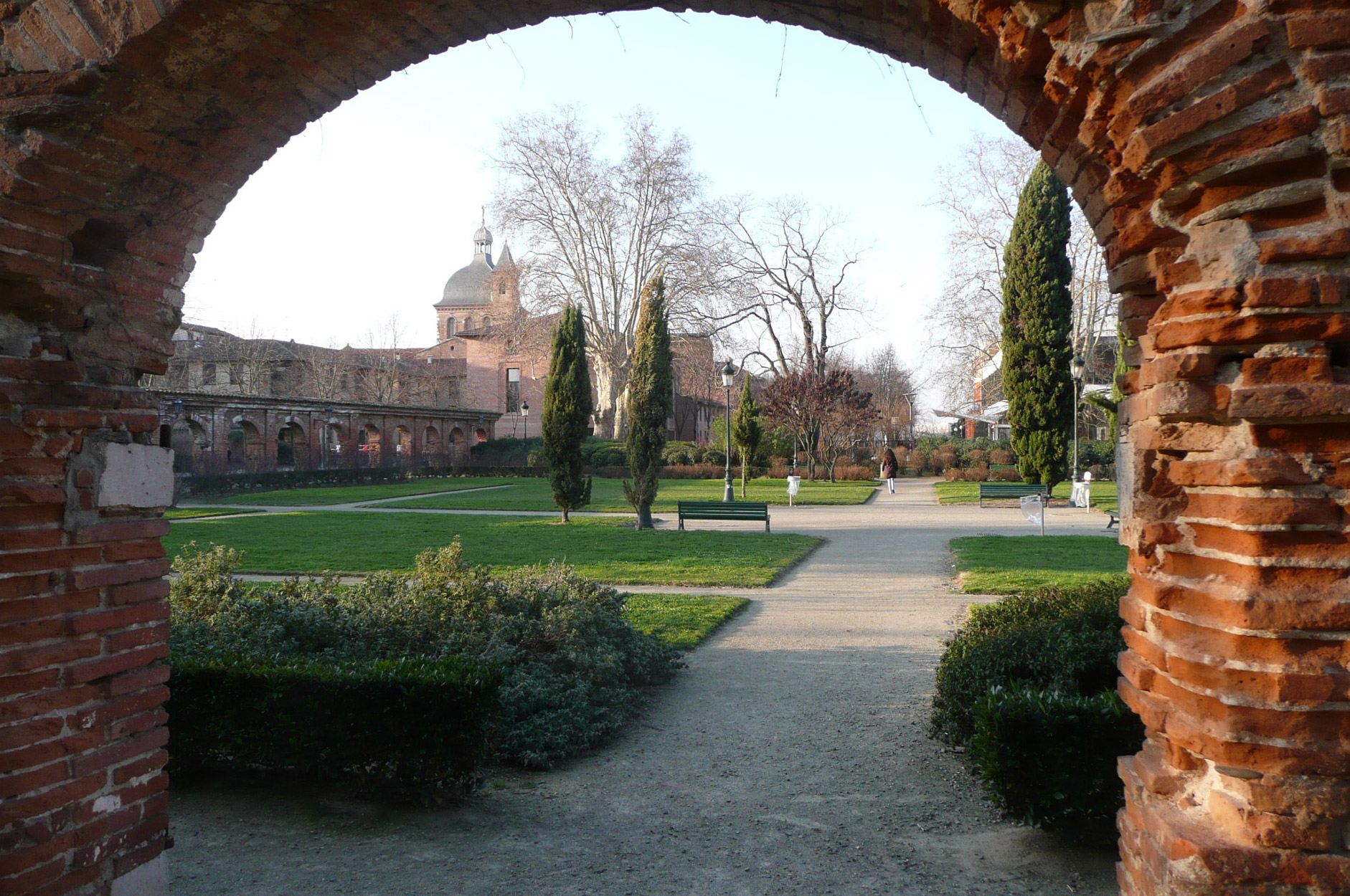 Arche parc université Toulouse Capitole