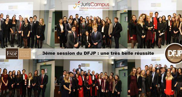 3ème Session Du DFJP : Une Belle Réussite