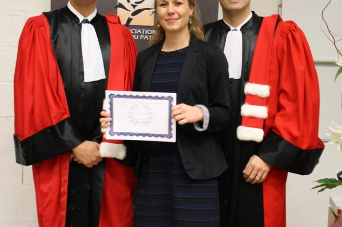 Amandine Simon, Diplômée - Promotion 2015/2016