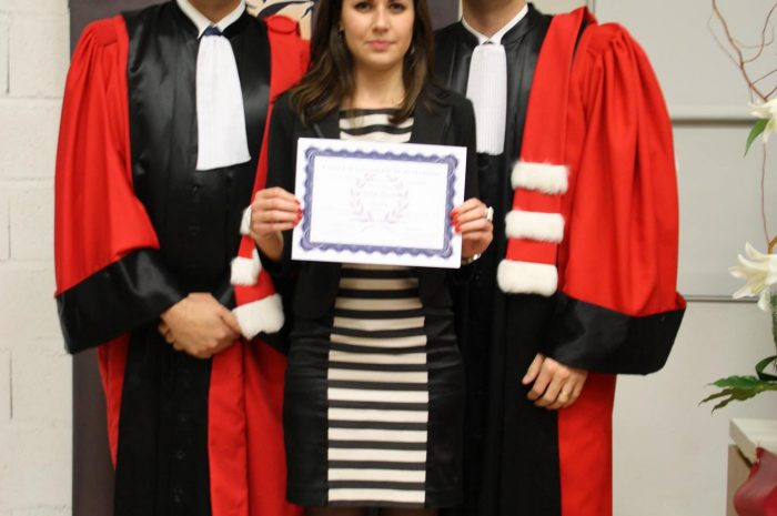 Audrey Geninatti, Diplômée - Promotion 2015/2016