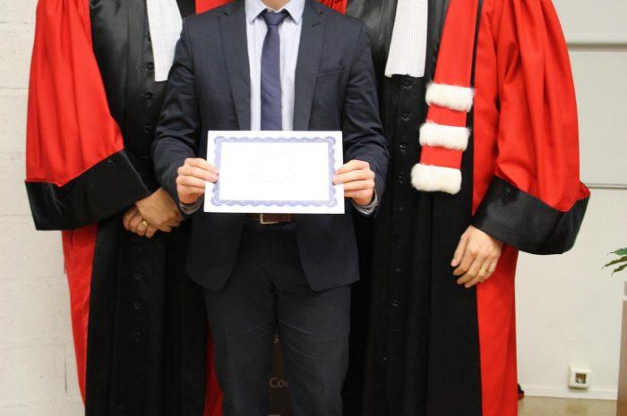 Emeric Lebel Diplômé - Promotion 2015/2016