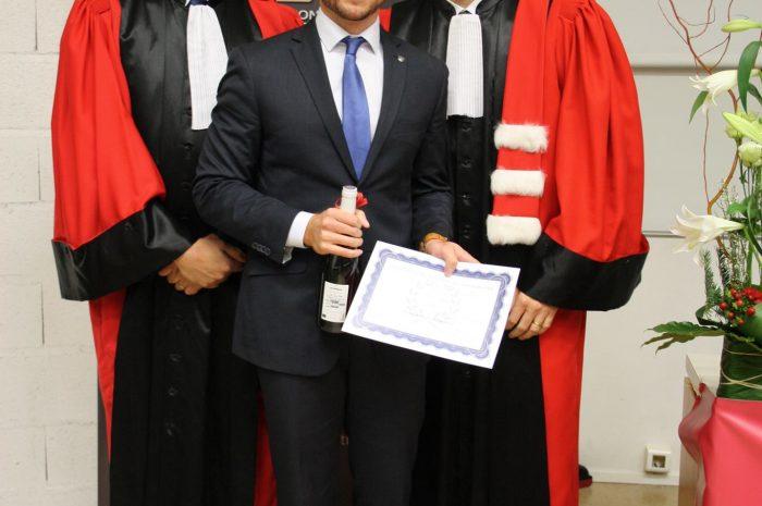 Kevin Vitry, Diplômé - Promotion 2015/2016