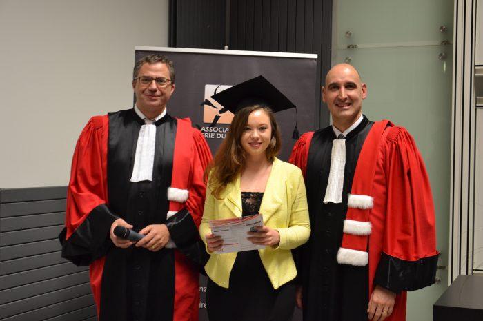 Pauline Blaha, Diplômée - Promotion 2014/2015