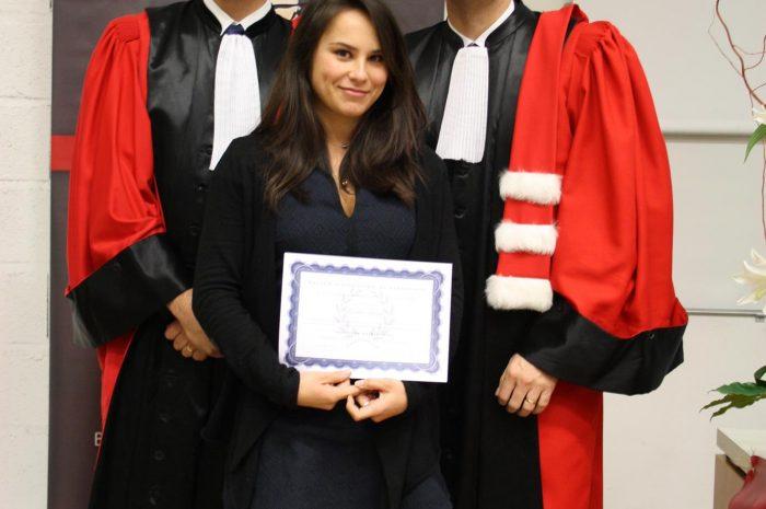 Pauline Sasaki, Diplômée - Promotion 2015/2016