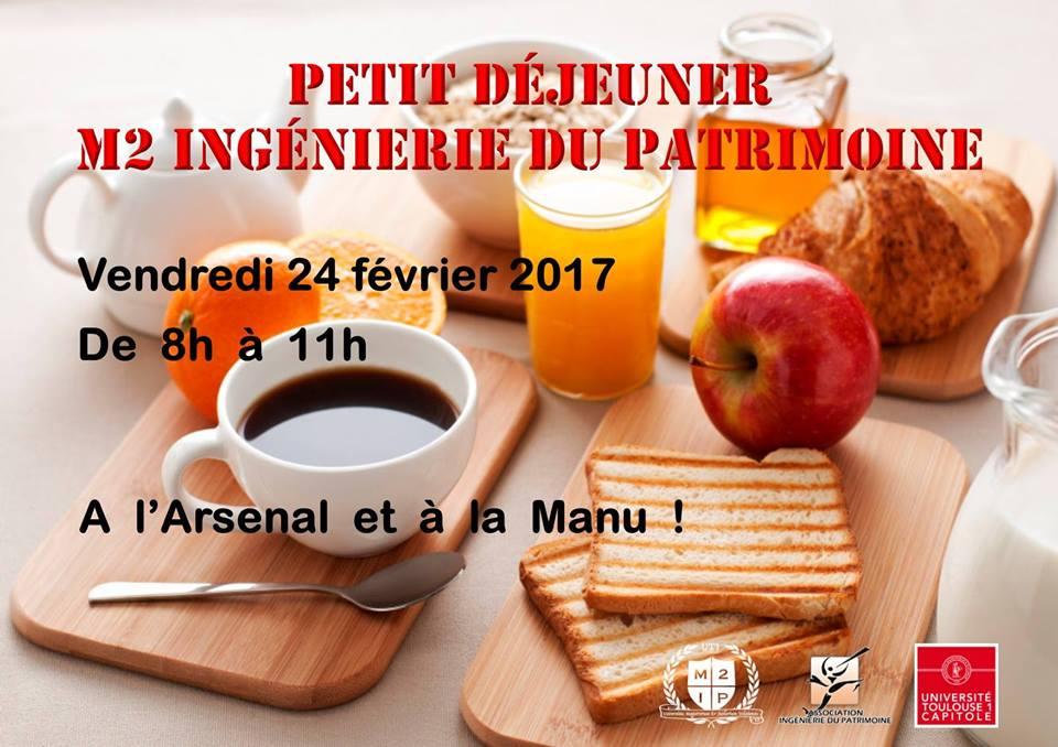 Petit déjeuner du 24 Février 2017