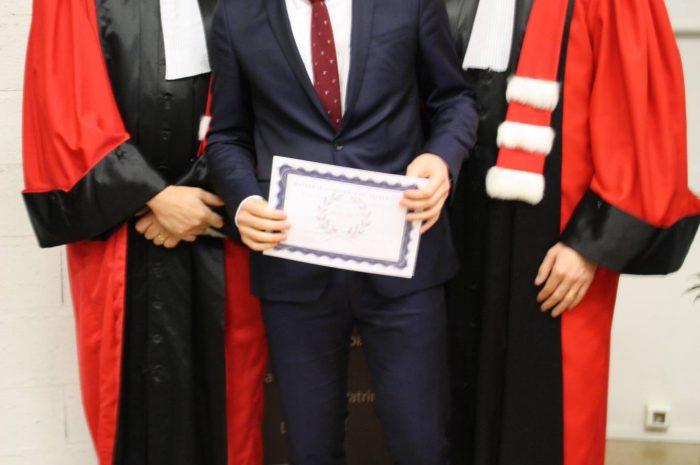 Pierre Latche, Diplômé - Promotion 2015/2016