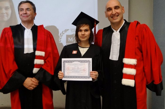 Typhaine Braida Cérémonie De Remise Des Diplomes 2017