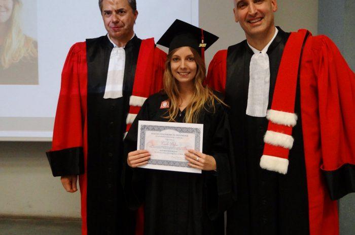Carole Dufau Cérémonie De Remise Des Diplomes 2017
