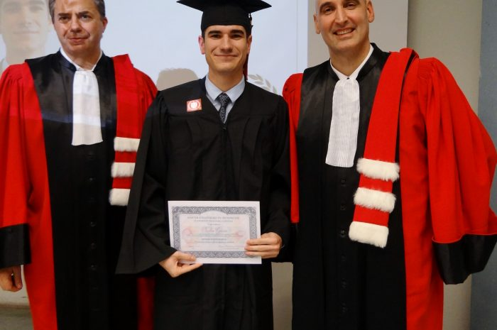 Nicolas Garcia Cérémonie De Remise Des Diplomes 2017