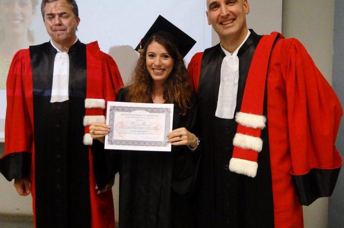 Myriam Henry Cérémonie De Remise Des Diplomes 2017
