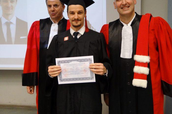Olivier Leroux Cérémonie De Remise Des Diplomes 2017