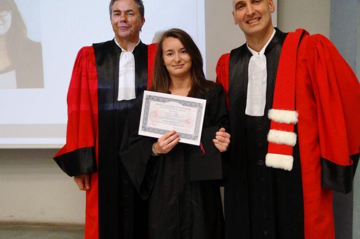 Audrey Marti Cérémonie De Remise Des Diplomes 2017