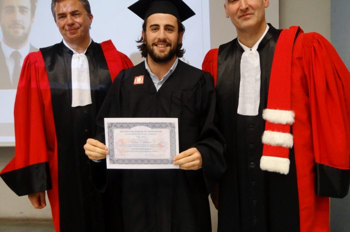 Antoine Ormieres Cérémonie De Remise Des Diplomes 2017