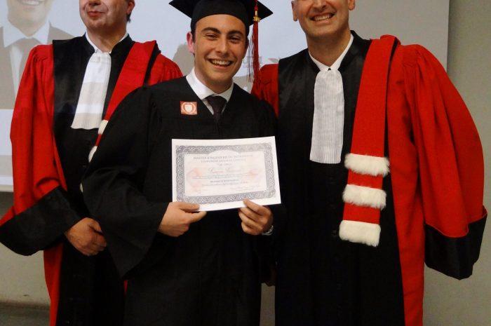 François Sacareau Cérémonie De Remise Des Diplomes 2017