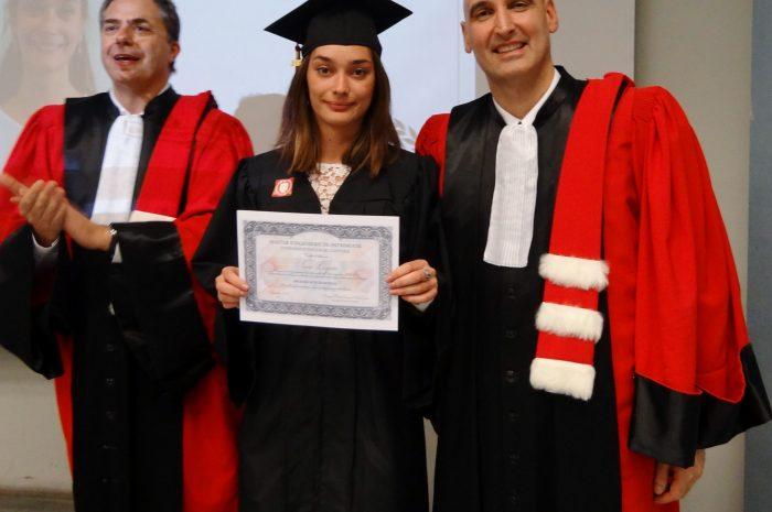 Anne Lazaro Cérémonie De Remise Des Diplomes 2017