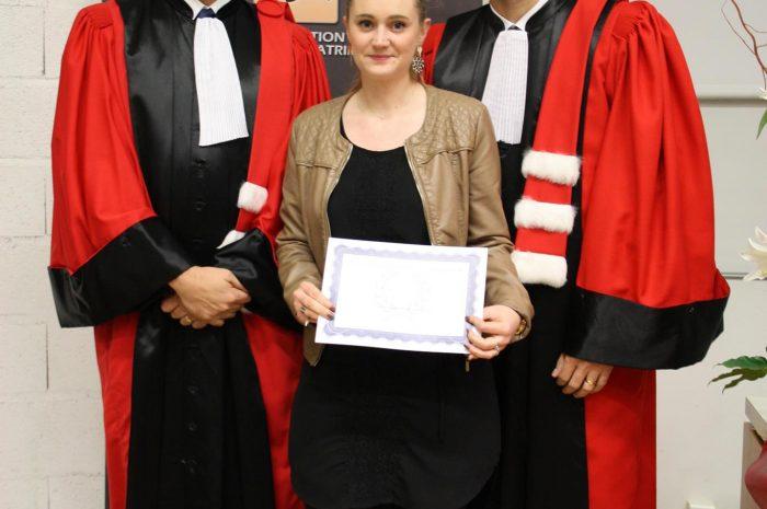 Justine Locquin, Diplômée - Promotion 2015/2016