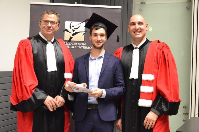 Lionel Mathonier, Diplômé - Promotion 2014/2015
