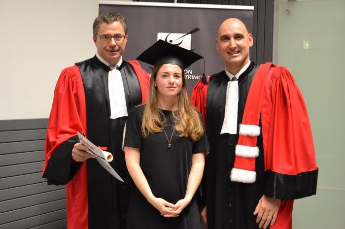 Marie Lagrange, Diplômée - Majore De La Promotion 2014/2015