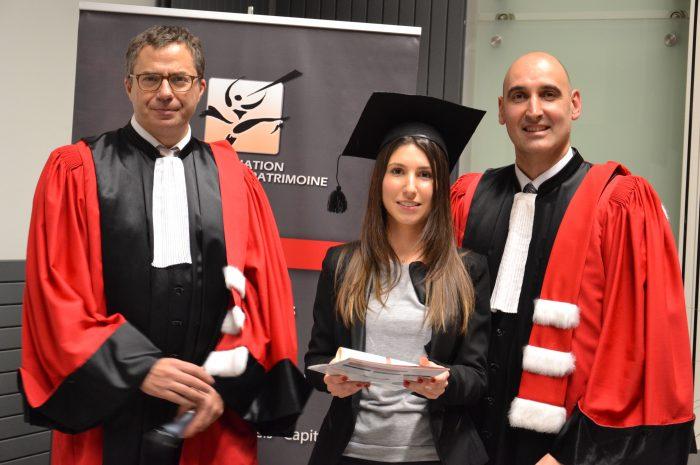 Marie Taverne, Diplômée - Promotion 2014/2015