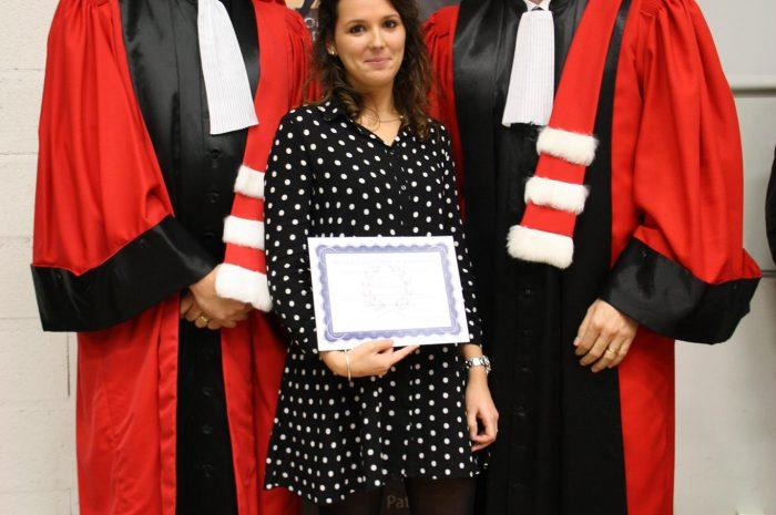 Mathilde Daurelle Diplômée - Promotion 2015/2016