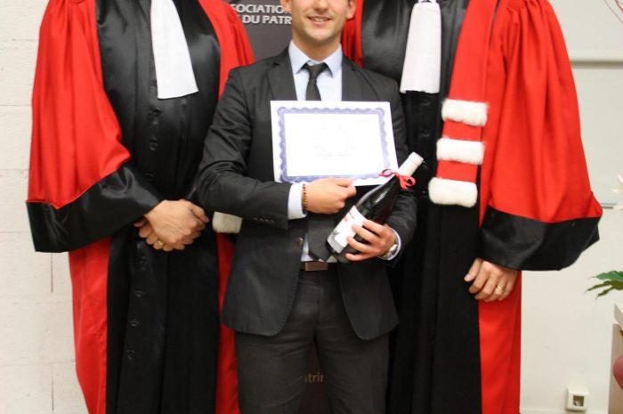 Nicolas Riuz, Diplômé - Promotion 2015/2016