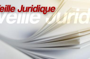 Veille Juridique Du 19 Octobre 2018