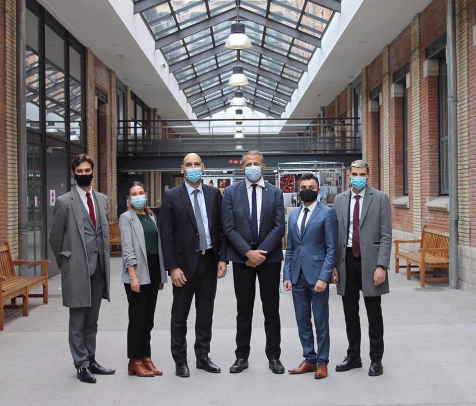 Promotion 2020-2021 photo des membres du Bureau