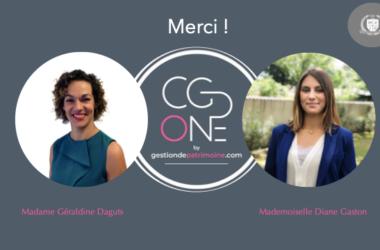 Retour D'expérience Avec Mme Géraldine Daguts Et Mme Diane Gaston, Du Cabinet CGP One